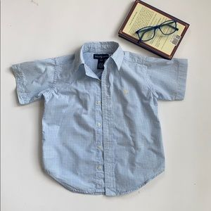 Polo Ralph Lauren short sleeve button down size 4